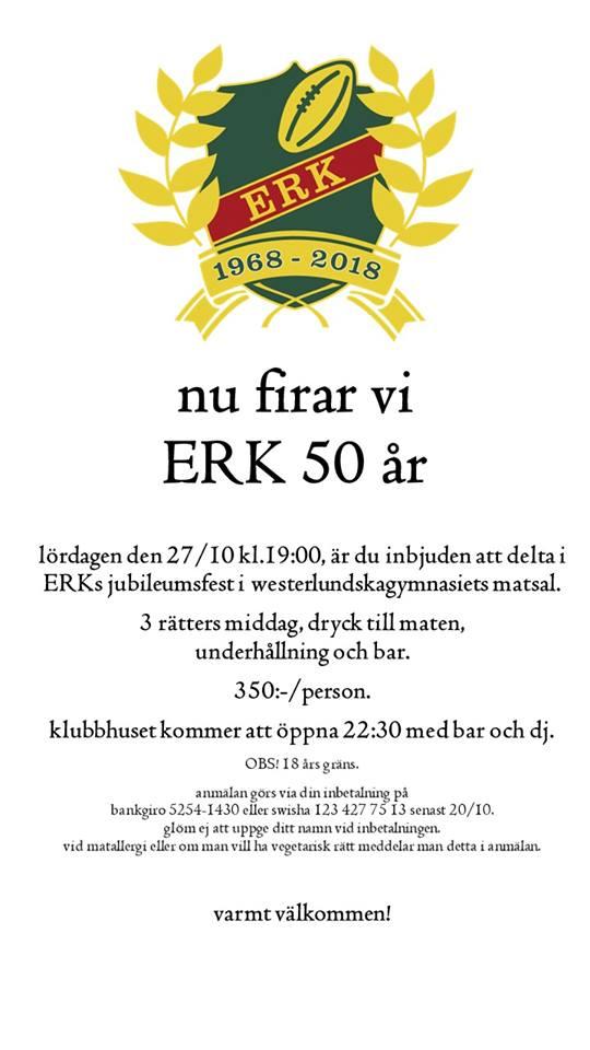 Inbjudan 50 årsfest